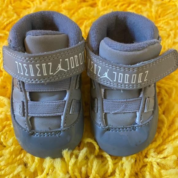 Jordan Shoes   Infant Cool Grey 11s